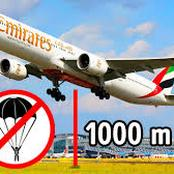 Ever Wondered Why Big Passenger Aeroplanes Have No Parachutes For Emergency Escape?