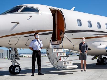 The First Ghanaian to buy a Private Jet