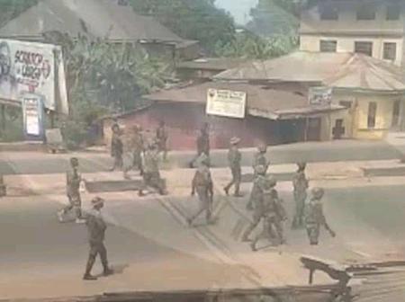 Orlu Raid: Army Confirms Air Strikes, Arrest 20 lPOB Members, Recovers Arms
