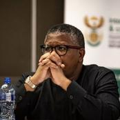 ANC divided ? : Mbalula definitely the Only member to Vote with The DA(Opinion)
