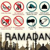 Ramadan 1442: These Are The Things That Can And Cannot Break Your Fast