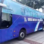 Check Out Photos As Governor Buys New Coastal Buses For Rivers Angels Football Club.