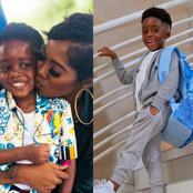 Checkout These Pictures That Prove Tiwa Savage's Son Is Growing Really Fast