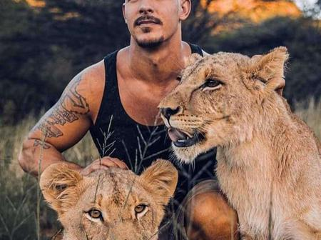 With Over 7 Billion People On Earth, See What This Man Choose To Become Friends With (Photos)
