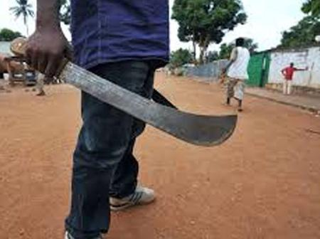 27- year- Old Man Attacks Baby Mama With Cutlass Over Food
