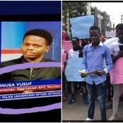 Remember The Man Who Threatened To Deal With EndSARS Protesters In Abuja? Check Out His Identity