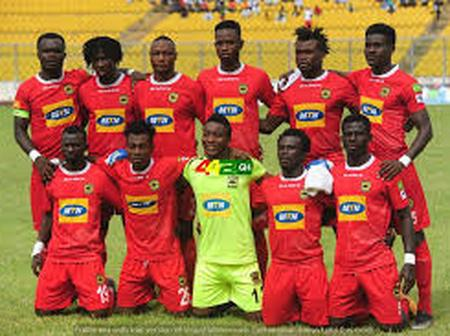 Kotoko players to take home cash after their 2-1 defeat to ES Setif in the CAF Confederation
