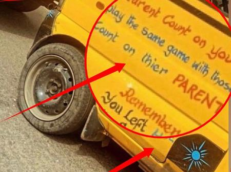 See What Was Written On A Commercial Bus That Got People Talking