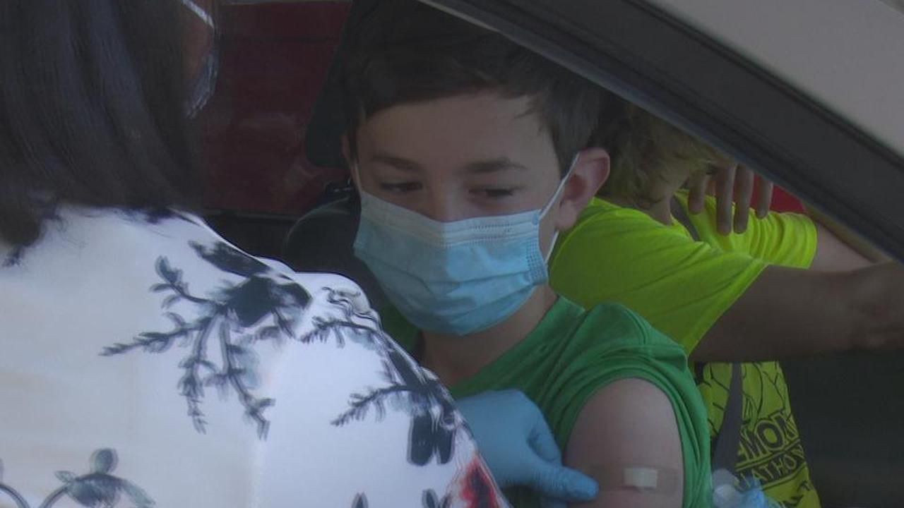 Tazewell County Health Dept. begins vaccinating kids ages 12 and up at mobile clinic