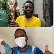 Pele The Brazilian Football Legend Gets COVID-19 Vaccine