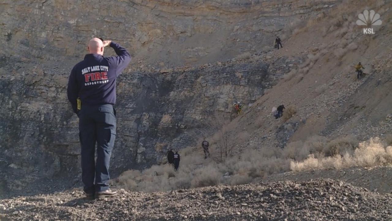 Utah hiker slips, falls more than 100 feet — and survives