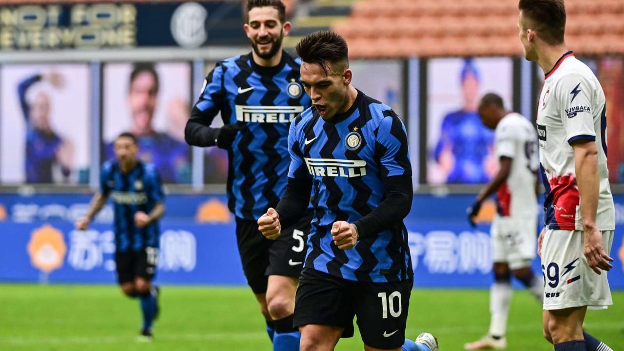 Inter 6-2 Crotone: Lautaro treble leads Nerazzurri to fifth straight success
