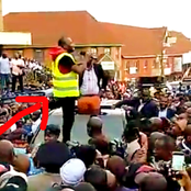 VIDEO: Bodaboda Rider Snatches DP Ruto's Microphone To Air Their Demands In Embu
