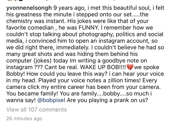 9e769ea824414e758f2048c9f3d5c994?quality=uhq&resize=720 - Yvonne Nelson Cries Over The Death Of Her Best Friend, Emmanuel Bobie As She Shares Their Memories