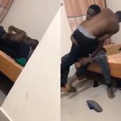 See What This Student Did To His Roommate After He Warned Him To Stop Wearing His Slippers (Photos)