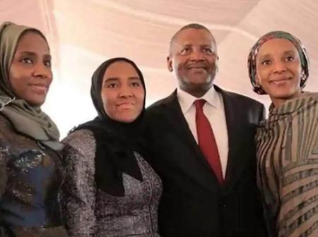 See 10+ Pictures of Aliko Dangote with his Lovely Daughters.