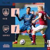 Auba Blames Arsenal's Draw against Burnley on VAR Decision