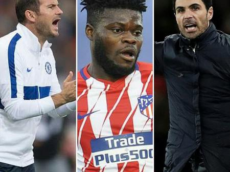 Chelsea In Competition with Arsenal to Sign Atletico Midfielder Thomas Partey