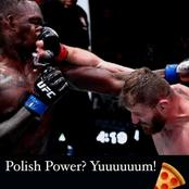 Israel Adesanya finally reacts after losing to Jan Błachowicz