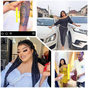 Bobrisky Gifts Fans Who Tattooed His Name On Their Body 50k Each, See Reactions