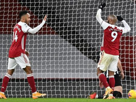 Arsenal told to sell both Auba and Laca to create room for Gabriel Martinelli and new striker.