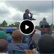 Video of Nyeri Residents Begging Uhuru to Tour The County With Raila Goes Viral