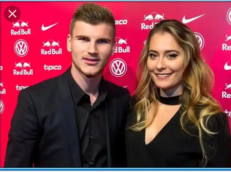 Timo Werner And His Lovely wife (Photos)