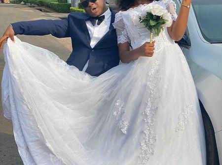 Enock Darko shares beautiful wedding photos with fellow movie star Chinenye Nnebe - Photos