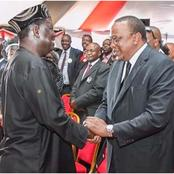 End Of Handshake? See The Demands That Raila Is Now Making For The Survival Of BBI