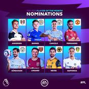 Check Out The Eight Players And Four Manager That Was Nominated For Premier League POTM
