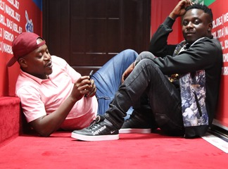 Fans Welcomes Emmanuel Mwashumbe and Shugaboy first day in the Morning Show