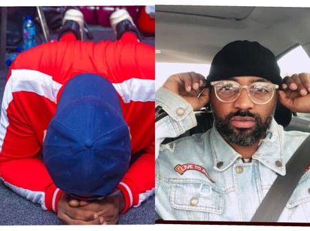 See what happened to actor Ifeanyi Kalu after his Pastor prayed for him this morning (PHOTOS)