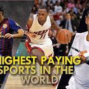 Top Five Highest Paying Sports In The World