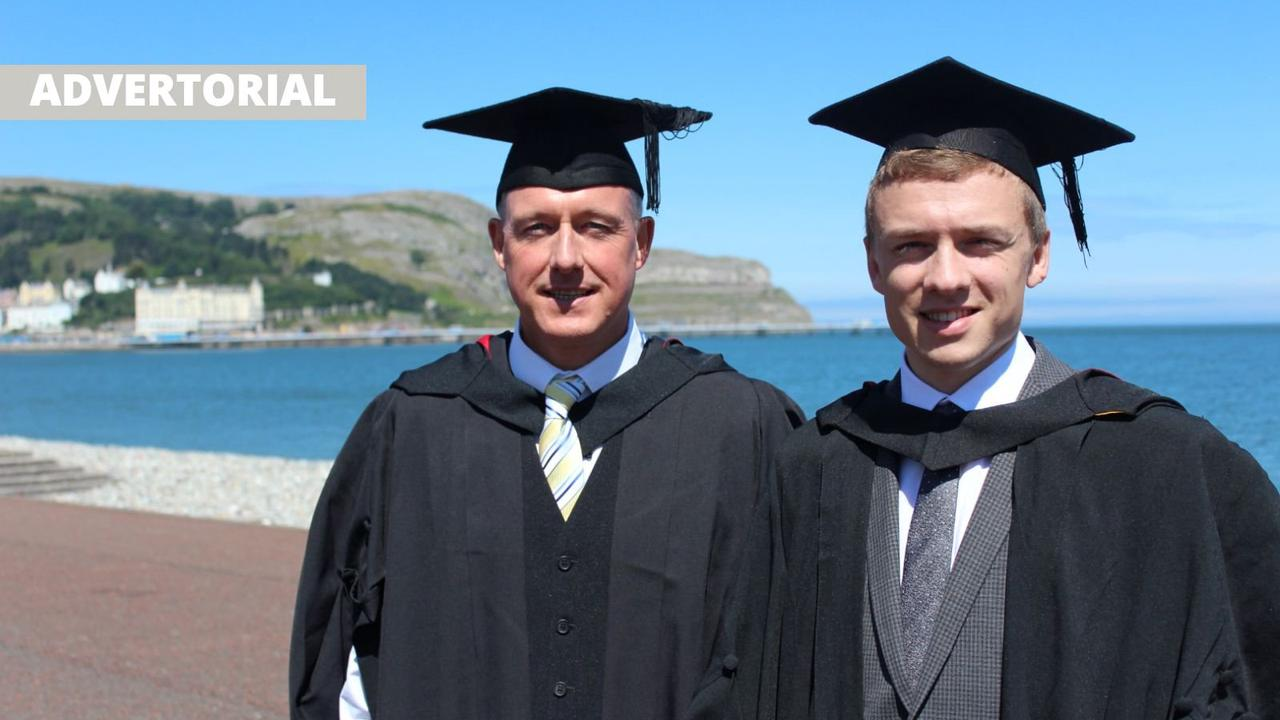 Degrees of success at Grŵp Llandrillo Menai
