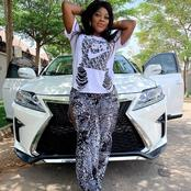 Nollywood Actress, Abigail Nebechi Acquires a New Car (Photos)