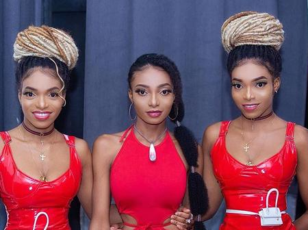 Remember The Most Beautiful 'Triplets' In Ghana? See These Recent Photos That Has Cause Stir Online