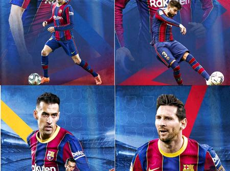 Check out wallpapers of Lionel Messi, Gerard Pique and other Barcelona players.