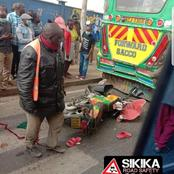 Happening Now: Grisly Road Accident Along Jogoo Road