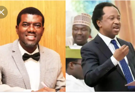 Reactions as Shehu Sani gives Reno Omokri a New Name because of his role in the London Protest