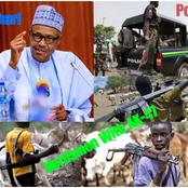 Buhari Orders Security Agents To Shoot Bandits, Herdsmen or Anyone Seen Carrying AK-47