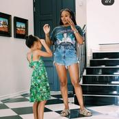 Dj Zinhle Serving As The Best Mom Of The Year See Pictures