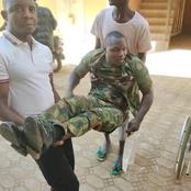 Abandoned Nigerian Army officer who lost his spine while protecting his boss begs Nigerians for help