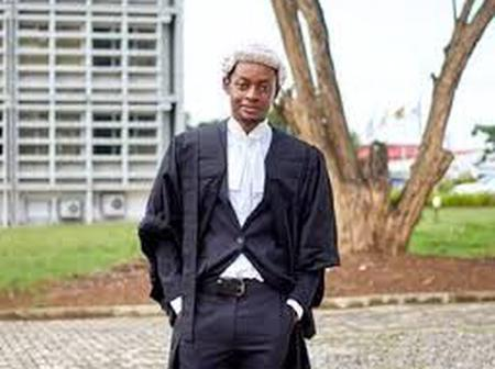 Meet The 22-Year-Old Ghana's Youngest Lawyer Ever In History. Akpene Darko-Cobbina