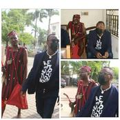 Alleged Unlawful Assembly: Omoyele Sowore Storm Court Hearing With His Herbalist (See Photos)