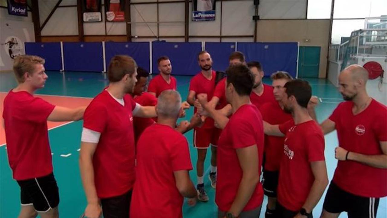 Martigues Volley en prépa face à Nancy - Martigues - Vie des communes