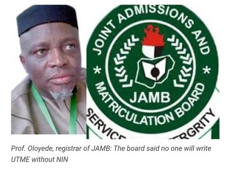 Jamb Releases Date for The Direct Entry and UTME Registration.