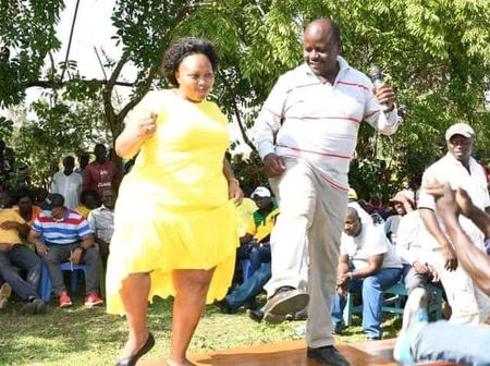 Millicent Omanga Promised To Be In Matungu Till By Election As She Makes Some Jokes To Men.