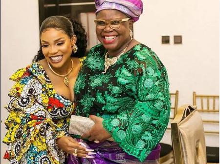 Mercy Aigbe, Adeniyi Johnson, Mide Martins, Omoborty, Seyi Edun Console Iyabo Ojo on Mother's Death