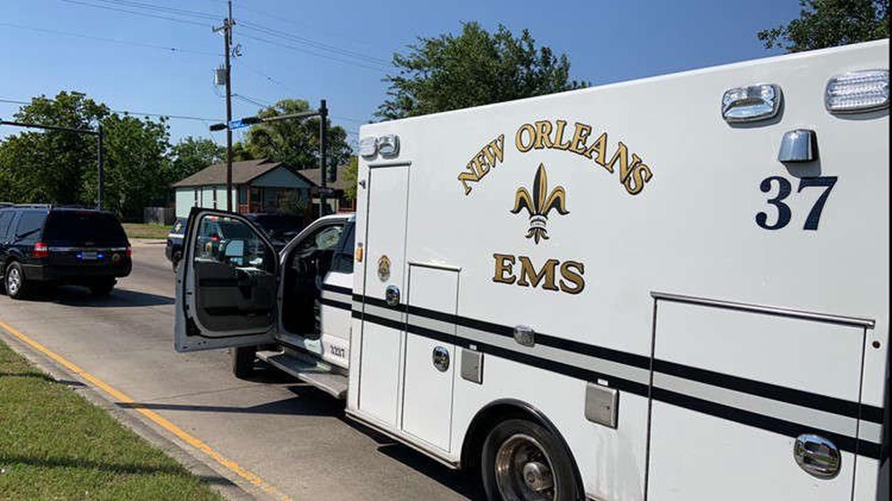 Stolen New Orleans ambulance found crashed in Gert Town, subject detained: NOEMS