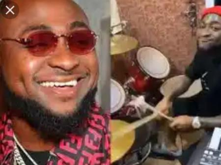 Check out photos of Davido, Don Jazzy and Cubana Chiefpriest in a church service